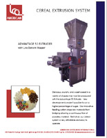 Cereal Extrusion System Brochure