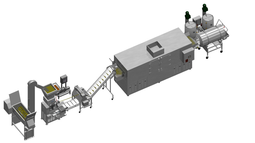 Co-Extrusion System   Creme Filled Snacks   Extruded Snack
